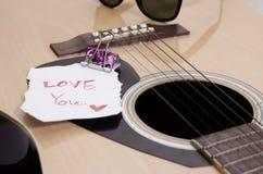 Gitarre akustisch Stockbilder