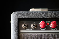 Gitarre Ampere Lizenzfreie Stockfotos
