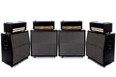 Gitarre Ampere vier Lizenzfreie Stockbilder