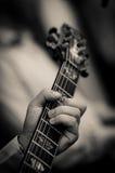 Gitarre elektrisch stockfotografie