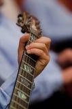 Gitarre elektrisch lizenzfreies stockbild