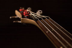 Gitarre Fretboard stockfotografie