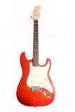 Gitarre getrennt auf Weiß Lizenzfreie Stockbilder