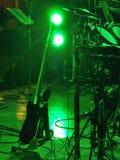 Gitarre im Bruch des Konzerts Stockbild