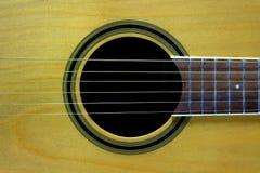 Gitarre mit 6 Zeichenketten stockfotos