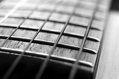 Gitarre nek Stockbild