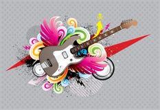 Gitarre städtisch Lizenzfreie Stockfotografie