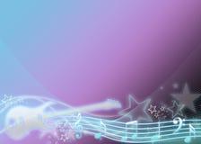 Gitarre u. Sterne Stockbilder