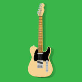 Gitarre, Vektor eps10 Stock Abbildung