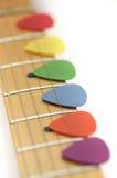 Gitarren-Auswahl Stockbild