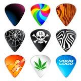 Gitarren-Auswahl Stockfotografie
