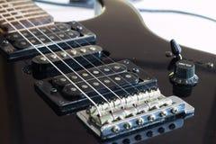 Gitarren-Brücke Lizenzfreie Stockfotos