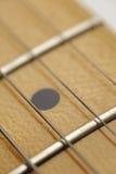 Gitarren-Gitterwerk-Makro Lizenzfreie Stockbilder