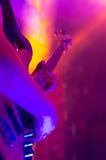 Gitarren-Hand Stockfoto