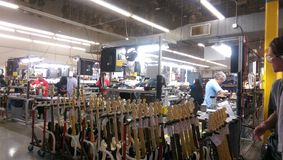 Gitarren-Herstellung Lizenzfreie Stockbilder