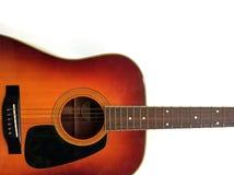 gitarren isolerade Arkivbilder