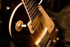 Gitarren-Körper Stockfoto