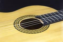 Gitarren-Körper-Bild Lizenzfreies Stockfoto