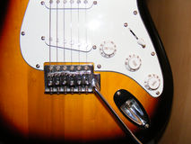 Gitarren-Karosserie Stockfotos