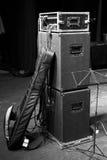 Gitarren-Kasten Stockbild