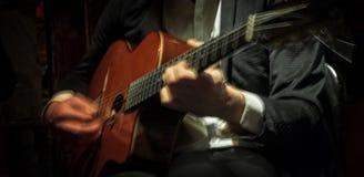 Gitarren-Leidenschaft Stockfoto