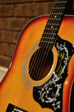 Gitarren-nahes hohes Lizenzfreies Stockbild