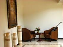 Gitarren-Sitze Stockfoto