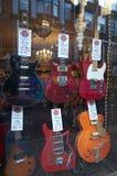Gitarren-Speicher - London Stockfotografie