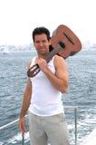 Gitarren-Spieler Lizenzfreies Stockfoto