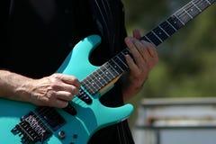 Gitarren-Spieler Stockbild