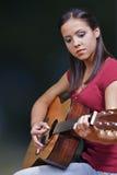 Gitarren-Spieler Stockbilder