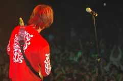 Gitarren-Spieler 4 Stockfoto