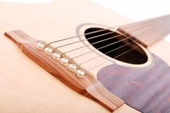 Gitarren-Zeichenketten Stockfoto