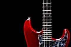 Gitarrenabbildung Lizenzfreie Stockbilder