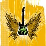 Gitarrenabbildungvektor Lizenzfreie Stockfotografie