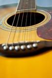 Gitarrendetails Lizenzfreie Stockbilder