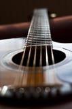 Gitarrendetails Stockbild