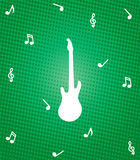 Gitarrenillustration Stockfotos