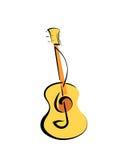 Gitarrenillustration Lizenzfreies Stockbild