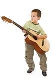 Gitarrenkind Stockbild