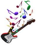 Gitarrenkonzert Stockbild