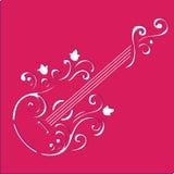 Gitarrenschablone AR lizenzfreie abbildung