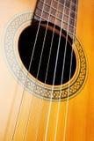Gitarrenschnüre Stockfotos