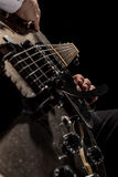 Gitarrenschnüre Stockfotografie