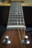 Gitarrenschnur Stockfoto