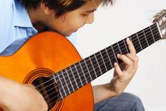Gitarrenspieler Lizenzfreies Stockfoto