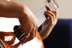 Gitarrenspieler Stockfotos