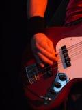 Gitarrenspieler Lizenzfreie Stockfotografie