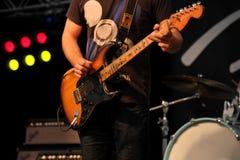 Gitarrenspieler Stockfoto