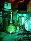 Gitarrenstadium elektrisch lizenzfreie stockfotografie